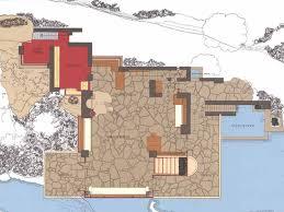 Falling Water Floor Plans