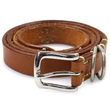it is good leather belt tea size34 used goods with unrivaled ann rye bardo studs
