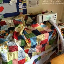 Stitch by Stitch: Double Slice Layer Cake Quilt & double+slice+quilt+quilting.jpg Adamdwight.com