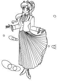 Sailor Moon Disegni Per Bambine Da Stampare E Colorare Gratis