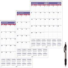 Amazon Com At A Glance Academic Monthly Wall Calendar July 2018