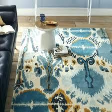 blue ikat rug summer special order wool rug day delivery west elm blue ikat rug teardrop