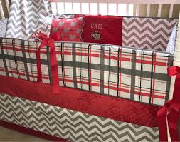ohio state crib bedding ohio state custom baby bedding 6