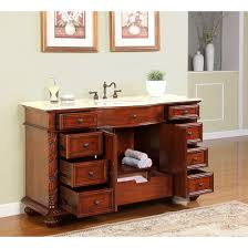60 Bathroom Cabinet Silkroad Exclusive Victoria 60 Single Bathroom Vanity Set