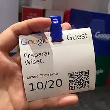 google thailand office. Figure 3: Google Guest Card Thailand Office E