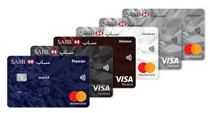 business credit card comparison chart compare sabb cards sabb saudi british bank