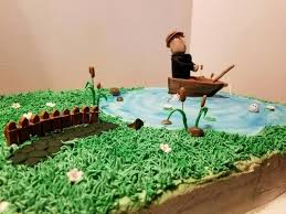 Tips Fishing Cake Ideas Digitorclub