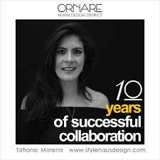 Ornare Design District Stylehaus Interior Design Ornare 10 Years Collaboration