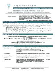 New Grad Nursing Skills Resume New Grad Resume Template New Grad Rn