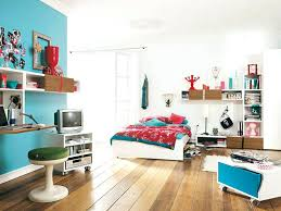 white walls bedroom ideas classy youth bedroom decorating with wooden floor and white blue painting walls with combining shelves feats round chair decor