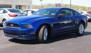 ford mustang 2014 blue. Fine Ford Deep Impact Blue 2014 Mustang V6 Coupe Throughout Ford O