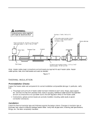 heat trace installation manual wiring diagram for you • trace heating cables self regulating installation manual rh slideshare net chromalox heat trace installation manual raychem heat trace installation manual