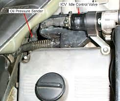 bmw e32 7 series information and links oil pressure sender and idle control valve icv