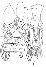 These Cinderella Coloring Pages Will Take