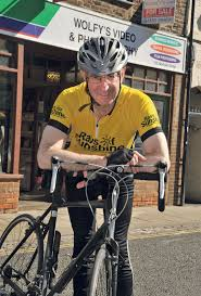 Charity cycle challenge for Lynn businessman   Your Local Paper