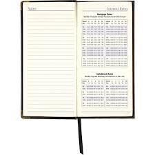leather fine diary weekly monthly planner aag70111005 alternate image3