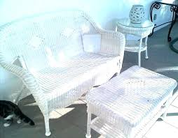 white wicker couch photo of white wicker patio furniture home decorating concept white wicker outdoor furniture