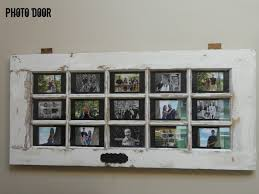 turn your door into a multi purpose photo frame