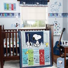 bedtime originals bedding sets bedtime originals hip hop snoopy 3 pertaining to amazing household 3 piece crib bedding set plan