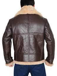 Raf Jacket Size Chart Mens Raf B3 Real Shearling Sheepskin Bomber Leather Jacket