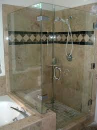 kohler shower door frameless glass shower enclosures bathtub doors