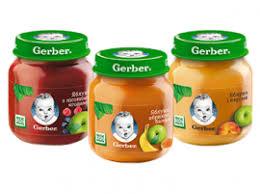Фруктовые <b>пюре Gerber</b> | Детское питание Nestle
