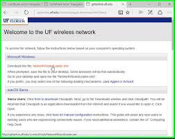 ufit wiki windows10wifireconfiguration step 8 click on run when the finish