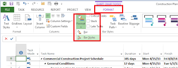 How To Add Task Name In Gantt Chart Ms Project Adding Complete To Milestones In The Gantt Chart Project