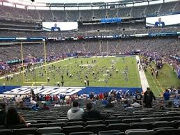 Giants Stadium Football Seating Chart 4 Ny New York Giants Psl Metlife Stadium Section 124 Aisle