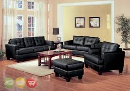 leather living room furniture sets. Leather Living Room Furniture Sets Samuel Black Bonded Sofa And Loveseat W