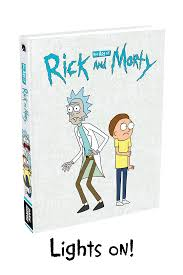 Rick And Morty Light Up Poster Lights On And Off Rick And Morty Know Your Meme