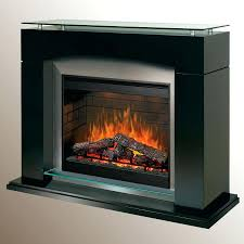 full image for dimplex laa black electric fireplace mantel package slater dcf44b glossy stainless surround raised
