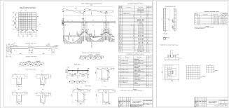 Курсовые работы железобетонные конструкции Чертежи РУ Курсовой проект Расчет и конструирование колонны и монолитного ребристого покрытия с балочными плитами