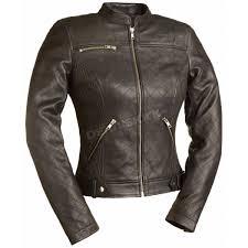 women s black queen of diamonds leather jacket fil 115