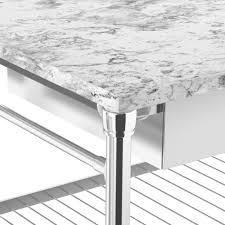 modular double kitchen island with marble top scroll to next item