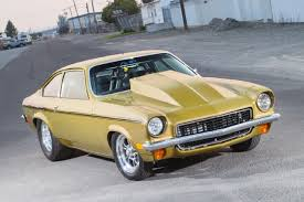 this big block powered chevrolet vega 1 1972 pro street vega front
