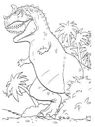 Dinosuar Coloring Pages