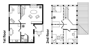 two story house floor plan downsize