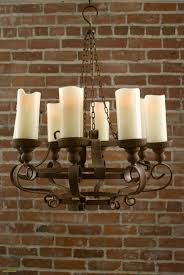 rustic chandeliers with crystals new rustic chandeliers with battery powered led candles no power
