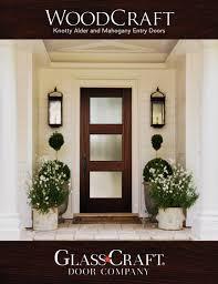 WoodCraft Mahogany & Knotty Alder Entry Doors Catalog by ...