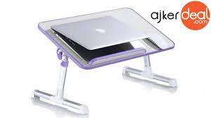 portable multifunction laptop lap desk foldable smart e table for laptop in desh
