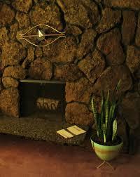 lava rock fireplace rinehart retro flickr