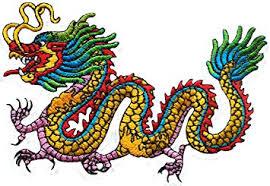 Amazon Com Chinese Dragon Kung Fu Yakuza Tattoo Embroidered