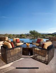 phoenix contemporary patio furniture mediterranean with polyester