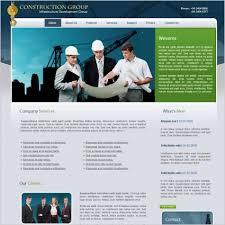 Construction Website Templates Beauteous Construction Group Template Free Website Templates In Css Js