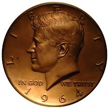 1964 Kennedy Half Dollar Accented Hair Value Chart 1964 Kennedy Portrait Restored For 2014 50th Anniversary