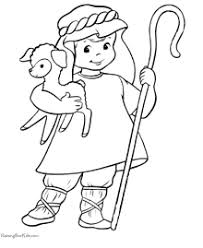 014 shepherd boy christian coloring pages the christmas story on free printable christian christmas games