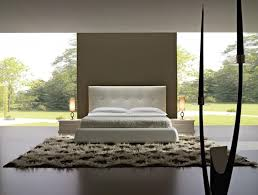 trendy bedroom furniture. bedroommodern white apartment bedroom with contemporary wooden furniture and shag rug trendy p