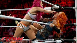 El 1 de febrero en raw, banks se enfrentó a becky lynch pero durante el combate, fueron atacadas por el naomi y tamina (team b.a.d.). Becky Lynch Vs Sasha Banks Raw January 25 2016 Youtube