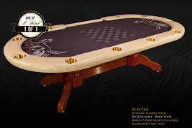 custom poker tables. SOLD. IShowroom Custom Steamer Beige Aces Pro Poker Table Tables C